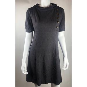 Eliza j gray dress size m